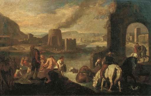Pieter van Bloemen, Stendardo