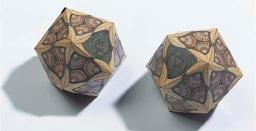 (2)  M.C. Escher for N.V. De V