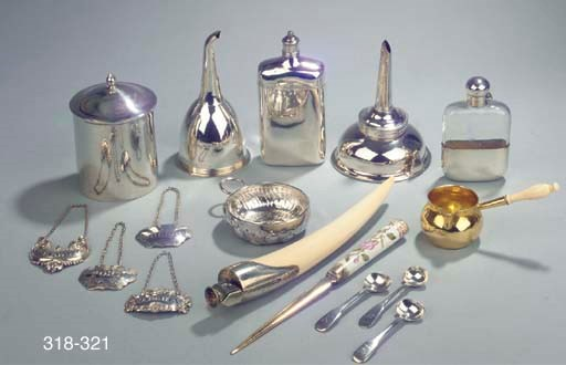 A Danish silver-gilt and porce