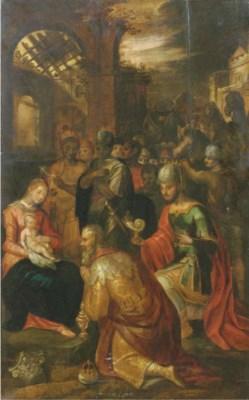 Manner of Frans Francken II