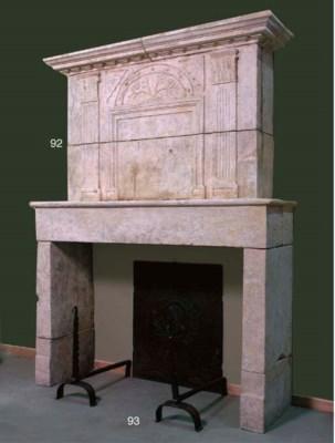 A French provincial limestone