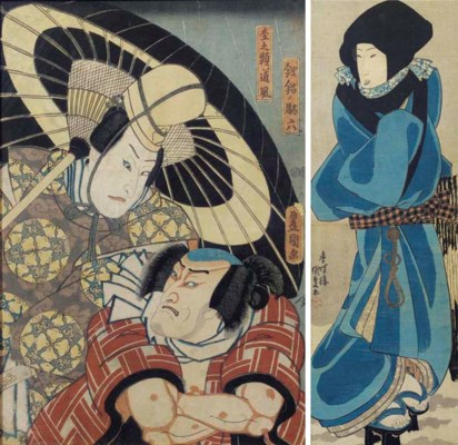 (3)  Utagawa Kunisada