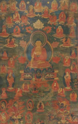 A Tibetan thang.ka depicting B