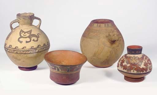 (4) Three Peruvian Vessels
