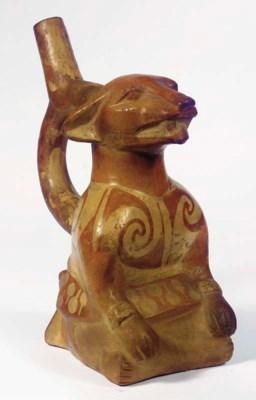 Middle Mochica Figural Vessel