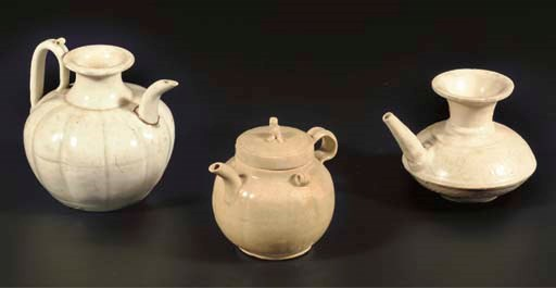 (3) A Chinese Qingbai glazed l