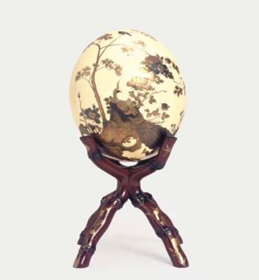 An ostrich egg