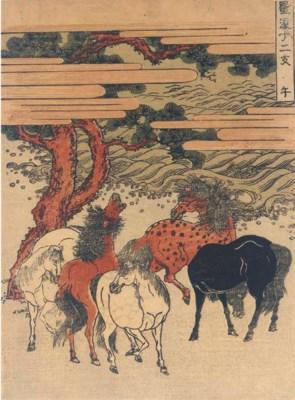 Isoda Koryusai (fl. c. 1764-17