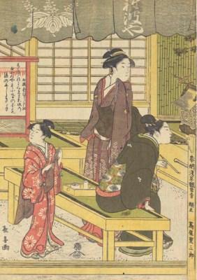 Eisoshai Choki (fl. c. 1790)