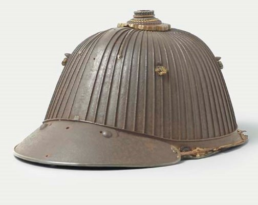 A Suji Bachi Kabuto [Helmet]