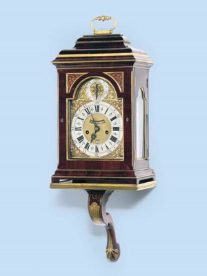 A George II padouk wood and br