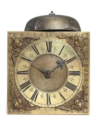 A Charles II wall clock moveme