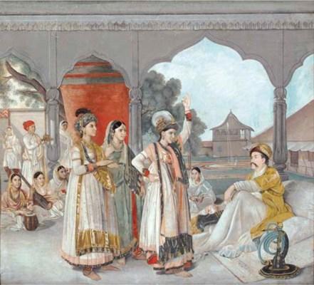 Lucknow School, circa 1785, po