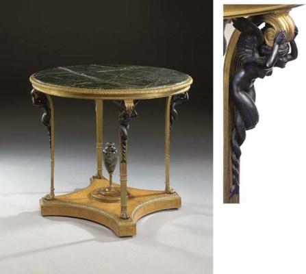 A Louis XVI style ormolu and p