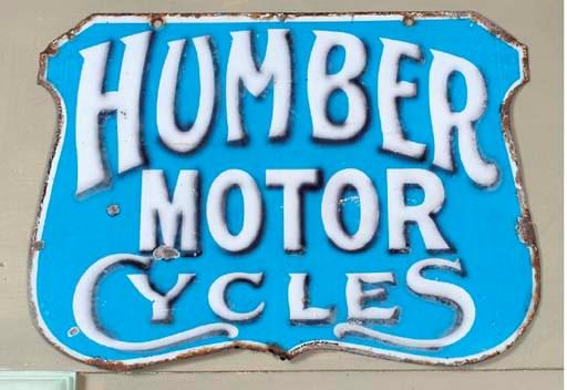 Humber Motor-Cycles - A scarce