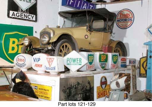 Fina - Early post-war petrol-p