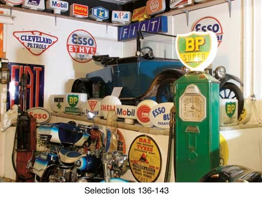 Esso - A post-war petrol-pump