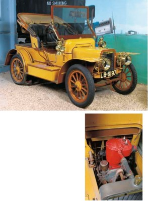 1908 ROVER 8HP TWO SEATER