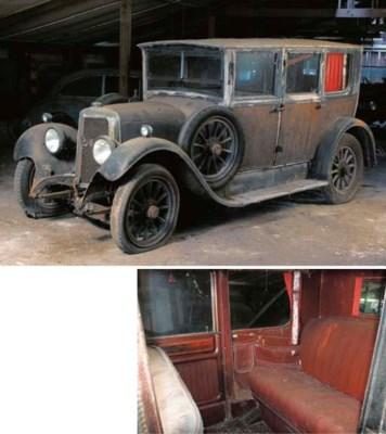 c.1928 PANHARD-LEVASSOR X39 FO
