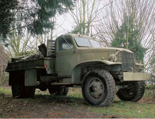 c.1943 CHEVROLET 1½ TON PICK U