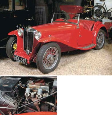 1938 MG TA SPORTS TWO-SEATER