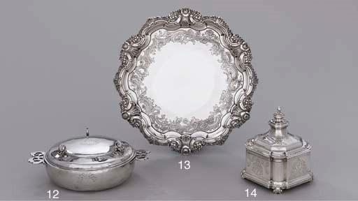 A Dutch silver sugar-box