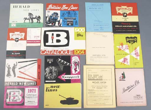 Britains Catalogues