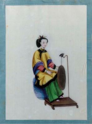 Three Chinese ricepaper albums