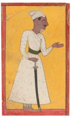 PORTRAIT OF A RULER, MANKOT, 1