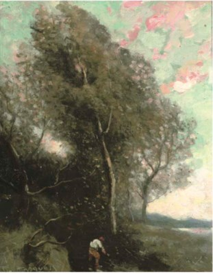 Manner of Camille Corot