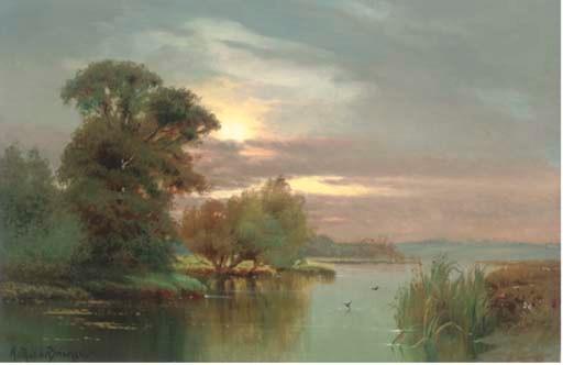 Arthur de Breanski (British, 1