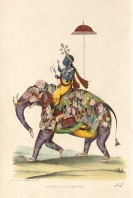 [PARKS, Fanny (1794-1875)].  W