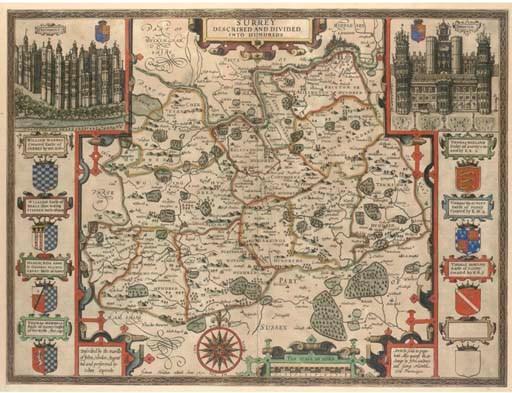 SPEED, John (1552-1629).  Surr