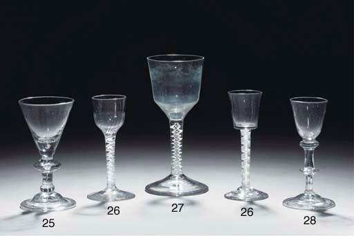 A balustroid wine-glass
