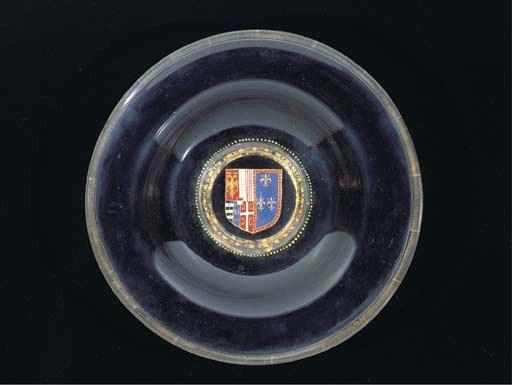 A Venetian armorial dish