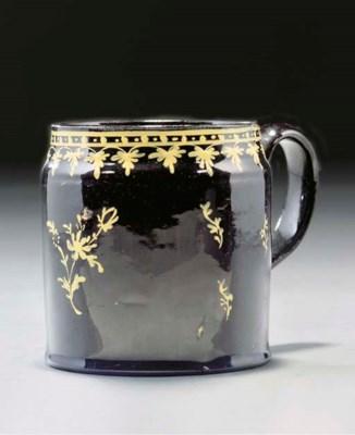 A Jackfield-type mug