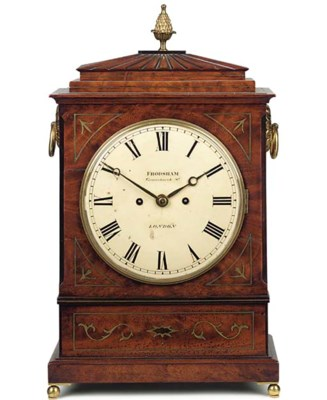 A George IV mahogany, brass-in