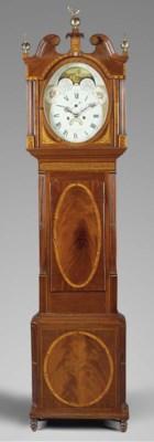 A George III mahogany and sati