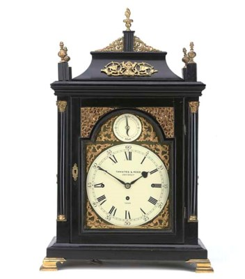 A Victorian ebonised and brass