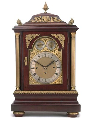 A Victorian mahogany and gilt-