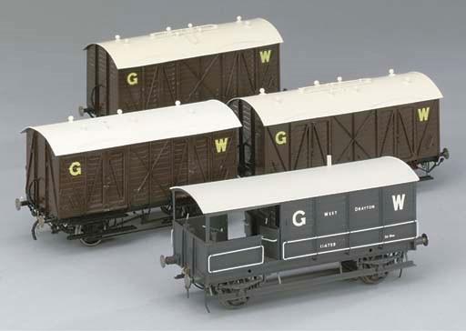 Four G.W.R. goods vehicles