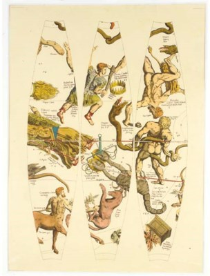 Ten hand-coloured reproduction