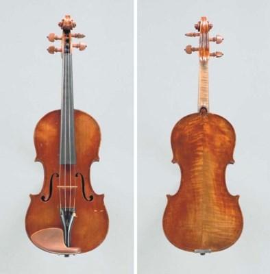 A Neapolitan violin, possibly