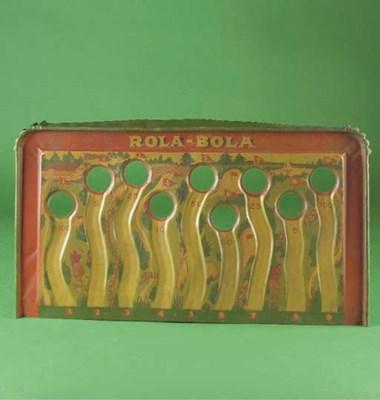 A GOTHAM ROLA-BOLA GOLF GAME
