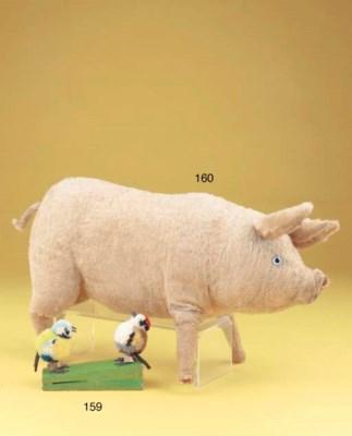 A Steiff squeak pig