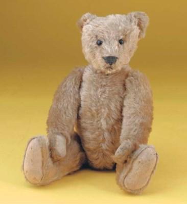An early American teddy bear