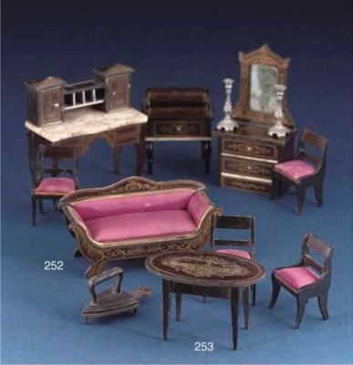 Waltershausen dolls' house fur