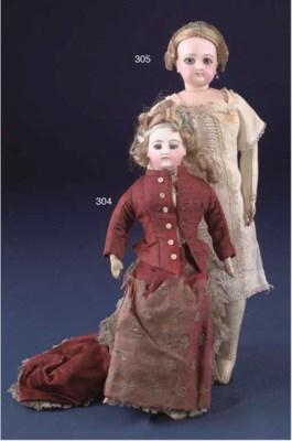 A Jumeau fashionable doll