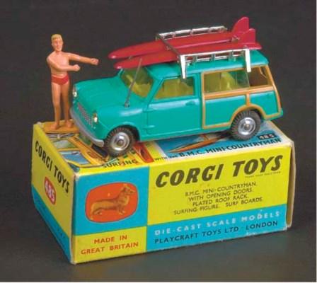 Corgi Cars and Farm,  early to
