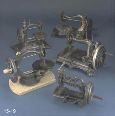 A 19th-Century chain-stitch se